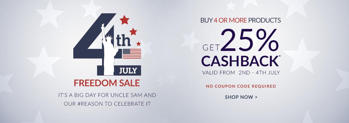 freedon sale coupons