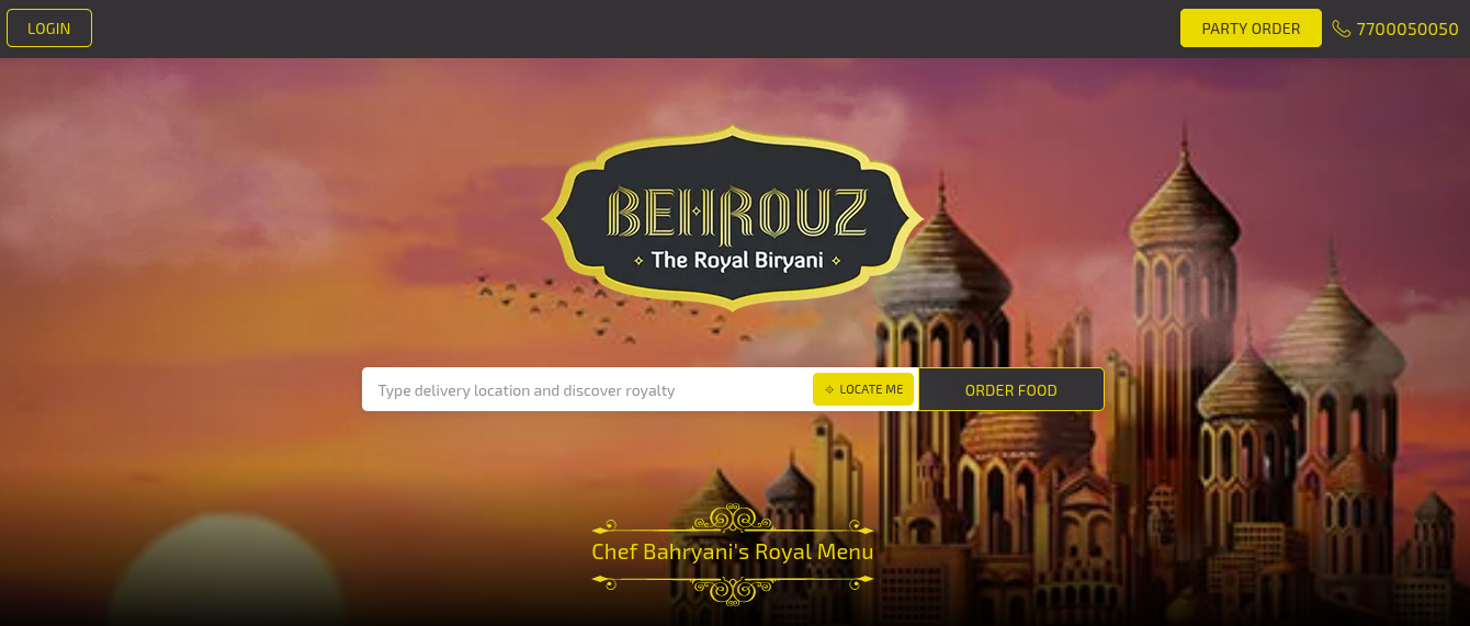 behrouzbiryani coupons