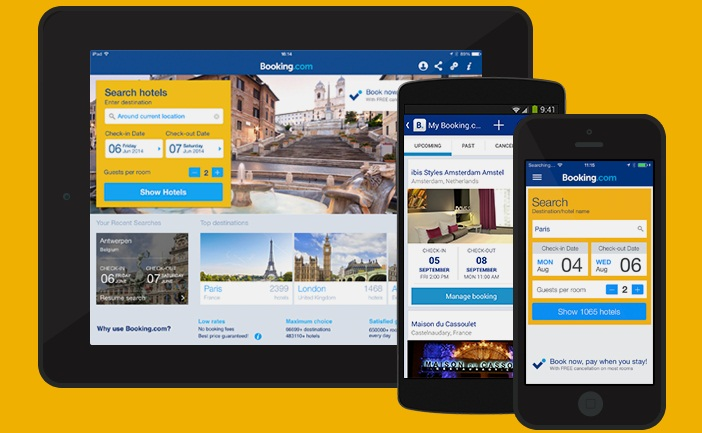 Booking.com Android and iOs App