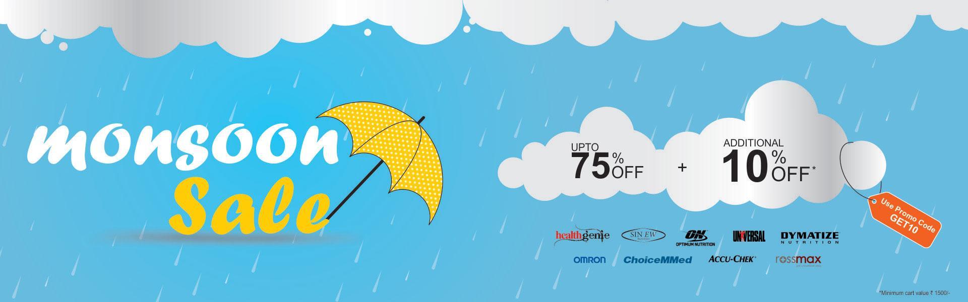 Healthgenie Monsoon Offer