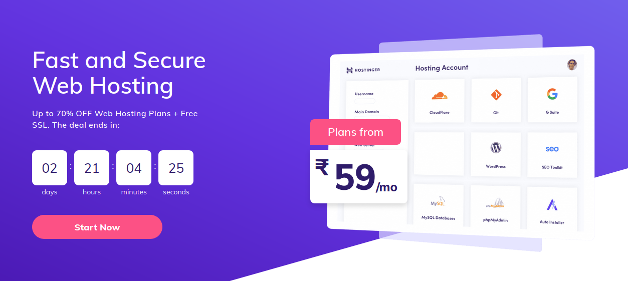 hostinger india coupons