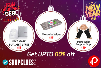 Shopclues New Year Sale